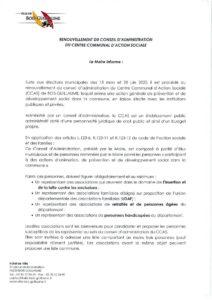 thumbnail of Publicité renouv. CCAS – Affiché en mairie le 29.06.20
