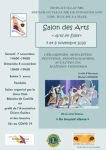 thumbnail of affiche salon des ARTS 2020 – COVID
