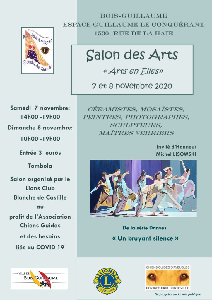 thumbnail of affiche salon des ARTS 2020 – COVID