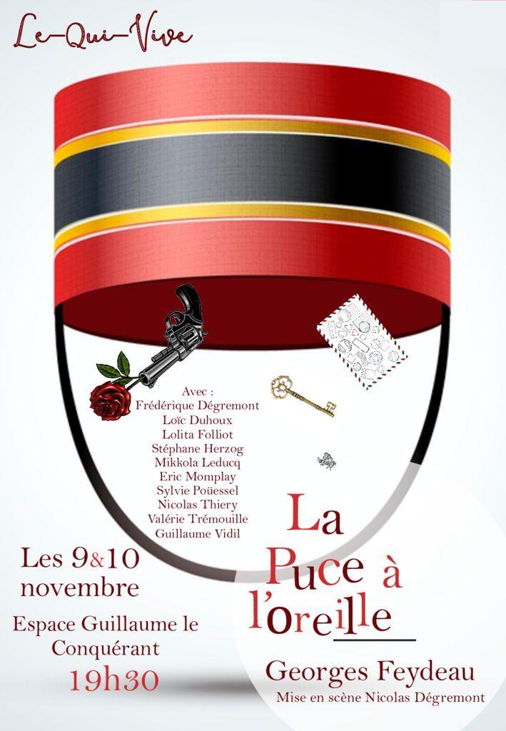 thumbnail of La Puce affiche